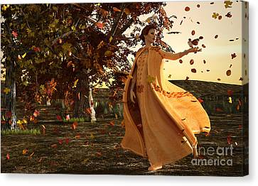 Autumn Canvas Print by Methune Hively