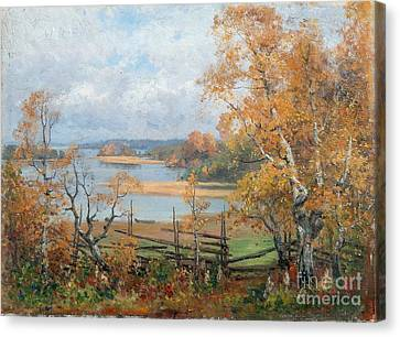 Autumn Mood Canvas Print by Celestial Images