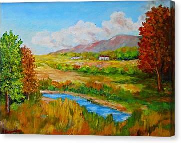 Autumn Nature Canvas Print