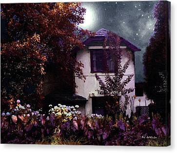 Autumn Night In The Country Canvas Print