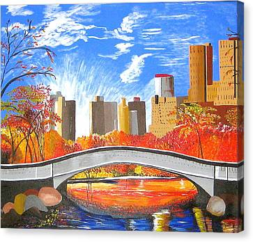 Autumn Oasis Canvas Print