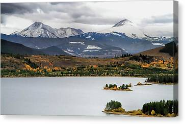 Autumn On Lake Dillon Colorado Canvas Print