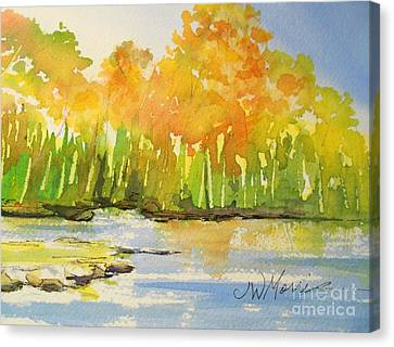 Autumn On Lake Lanier Canvas Print
