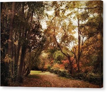 Autumn Passage Canvas Print by Jessica Jenney