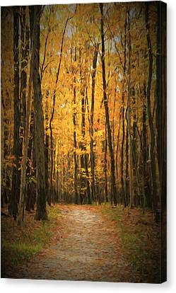 Autumn Peace Canvas Print