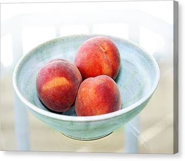 Autumn Peaches Canvas Print by Marilyn Hunt