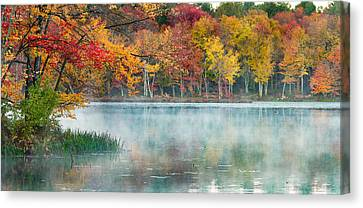 Autumn Pond Canvas Print by Brian Caldwell
