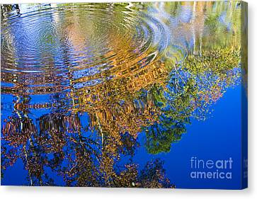 Hightower Canvas Print - Autumn Reflections by Tim Hightower