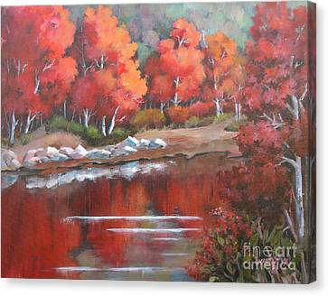Autumn Reflexions 2 Canvas Print
