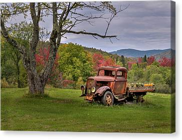 Autumn Relic Canvas Print by Bill Wakeley