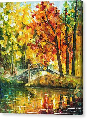 Autumn Rest   Canvas Print by Leonid Afremov