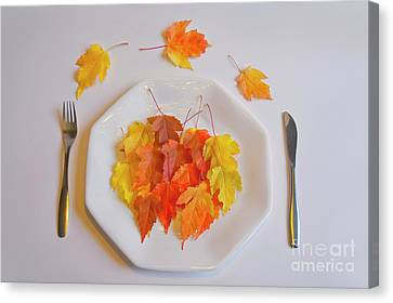 Autumn Salad Canvas Print by Veikko Suikkanen
