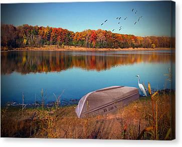 Autumn Serenade Canvas Print