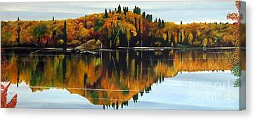 Canvas Print - Autumn Showcase by Marilyn McNish