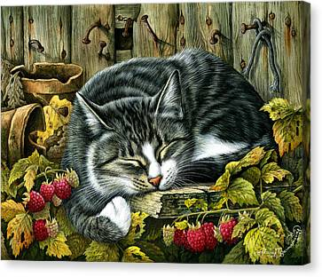 Autumn Siesta Canvas Print by Irina Garmashova-Cawton