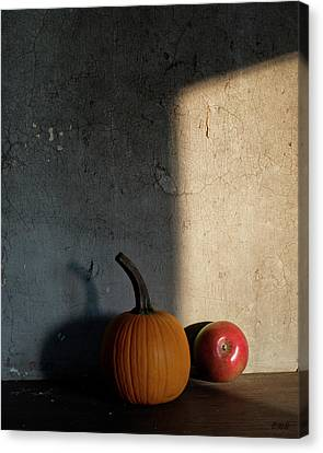 Canvas Print featuring the photograph Autumn Still Life I Color by David Gordon