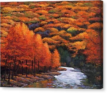 Canvas Print - Autumn Stream by Johnathan Harris