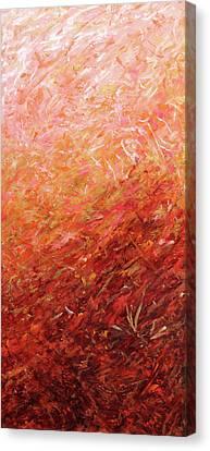 Autumn Sunrise Canvas Print by Julie Turner