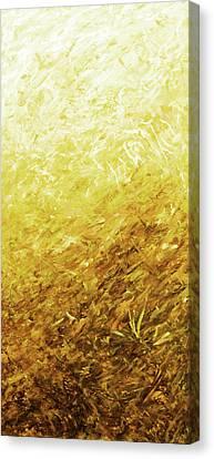 Autumn Sunrise - Lemon Canvas Print by Julie Turner