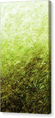 Autumn Sunrise - Olive Canvas Print by Julie Turner