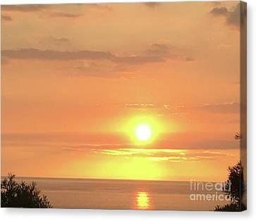 Canvas Print - Autumn Sunset by Karen Nicholson
