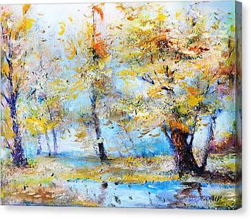 Autumn Tenderness Canvas Print