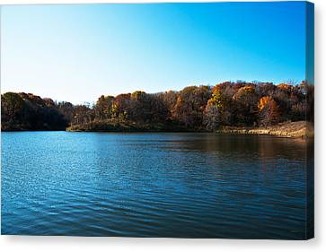 Autumn The In Loess Hills Canvas Print