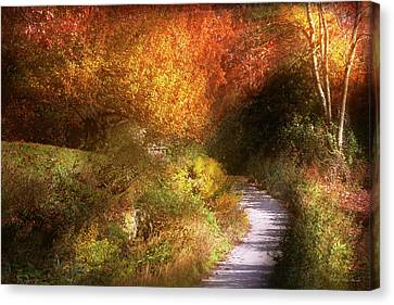 Rest In Peace Canvas Print - Autumn - Trees - Heaven's Trail by Mike Savad