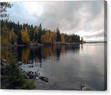 Canvas Print featuring the photograph Autumn View 1 by Sami Tiainen