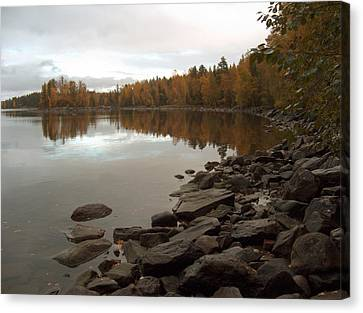 Canvas Print featuring the photograph Autumn View 5 by Sami Tiainen