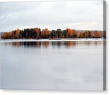 Canvas Print featuring the photograph Autumn View 7 by Sami Tiainen