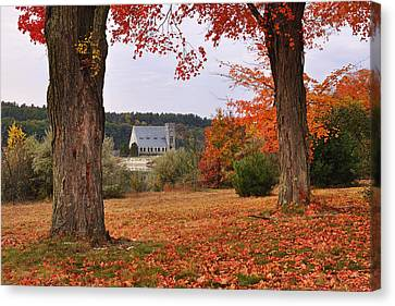 Autumn View Canvas Print by Luke Moore