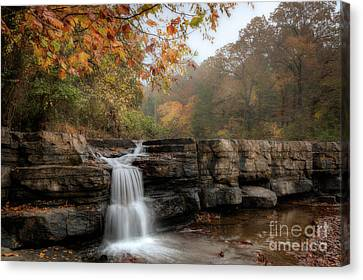 Autumn Water Canvas Print