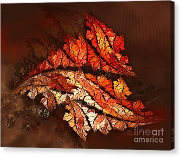 Autumn Wind Canvas Print by Jutta Maria Pusl
