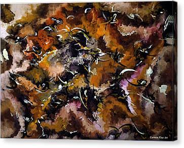 Autumnal Cut Canvas Print