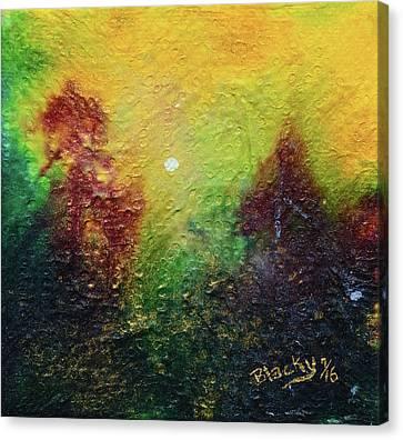 Autumnal Mystery Canvas Print by Donna Blackhall