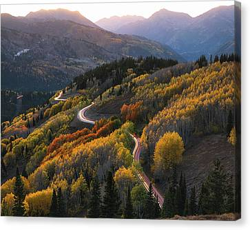 Autumnatic Transmission Canvas Print by James Udall