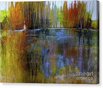 Autumn's Caress Canvas Print by Melody Cleary