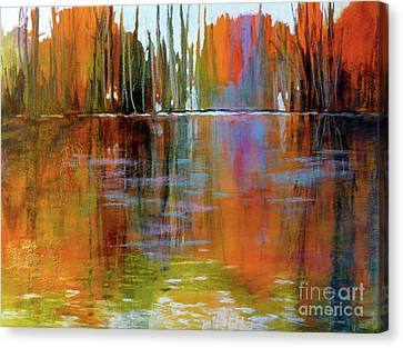 Autumn's Fire No. 2 Canvas Print by Melody Cleary