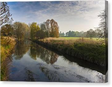 Autumns Mirror Canvas Print