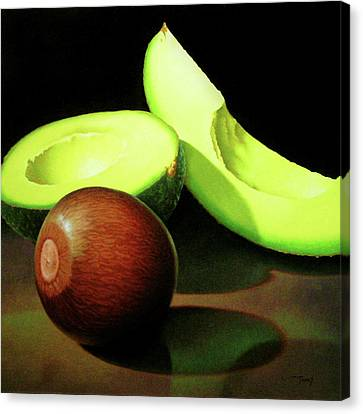 Avacado Canvas Print