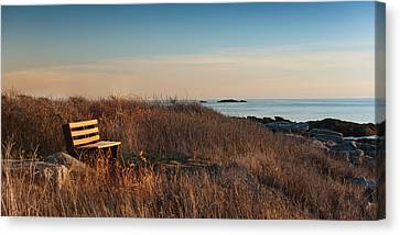 Canvas Print featuring the photograph Available Seating by Robin-Lee Vieira