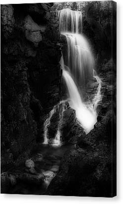 Avalanche Falls Flume Gorge Canvas Print
