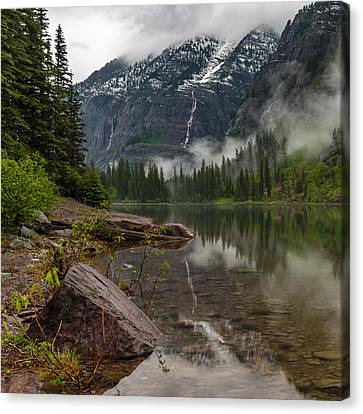 Avalanche Lake Canvas Print by Gary Migues