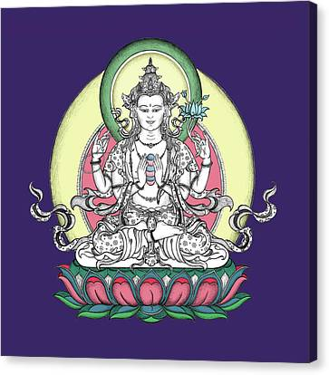 Avalokiteshvara Canvas Print