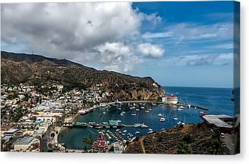 Avalon Harbor - Catalina Island Canvas Print