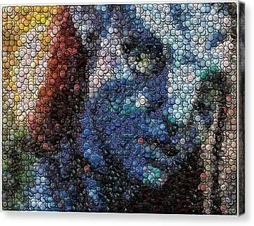 Avatar Neytiri Bottle Cap Mosaic Canvas Print