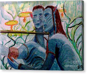 Avatar Painting Canvas Print
