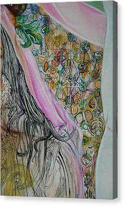 Avatari Atomic Detail Canvas Print