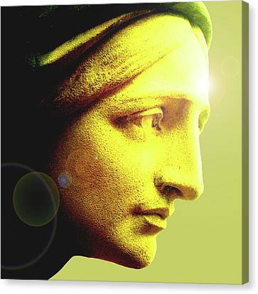 Ave Maria No. 01 Canvas Print by Ramon Labusch